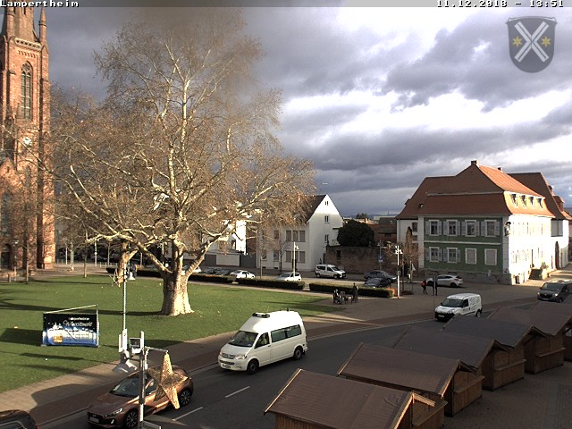 Webcam Europaplatz Lampertheim
